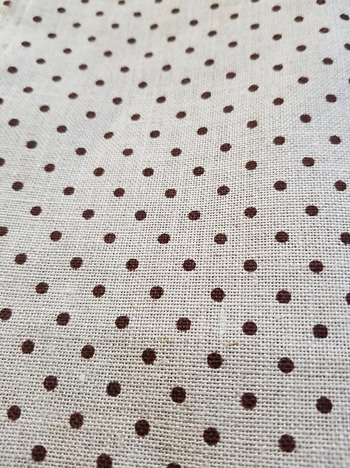 *Brown/Neutral Polka Dots (32 count)