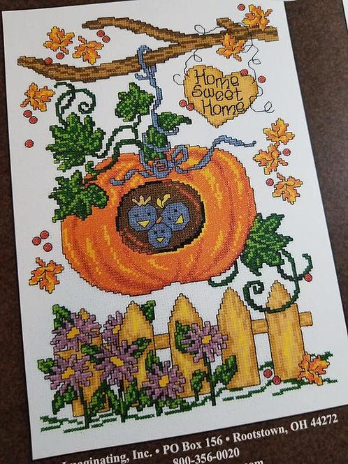 Autumn Birdhouse - $2 Chart