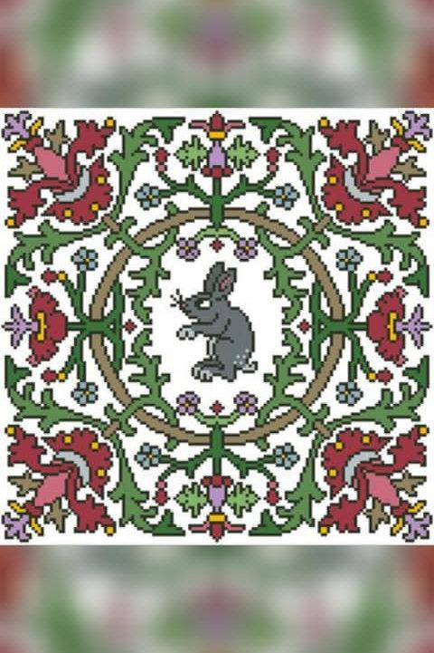 Floral Bunny - Arelate Studio