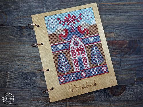 Scandinavian Sampler Notebook - Primitive & Wood