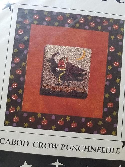 Icabod Crow Punchneedle - Prairie Moon