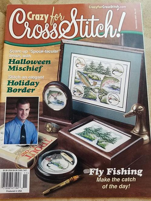 Crazy For Cross Stitch - November 2001