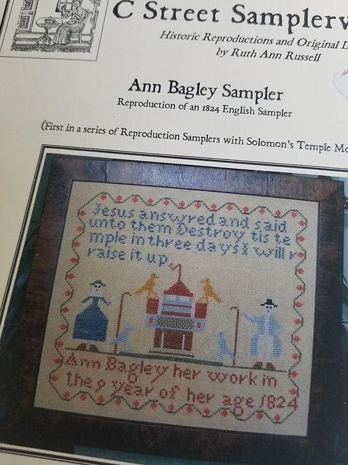 Ann Bagley Sampler - C Street Samplerworks