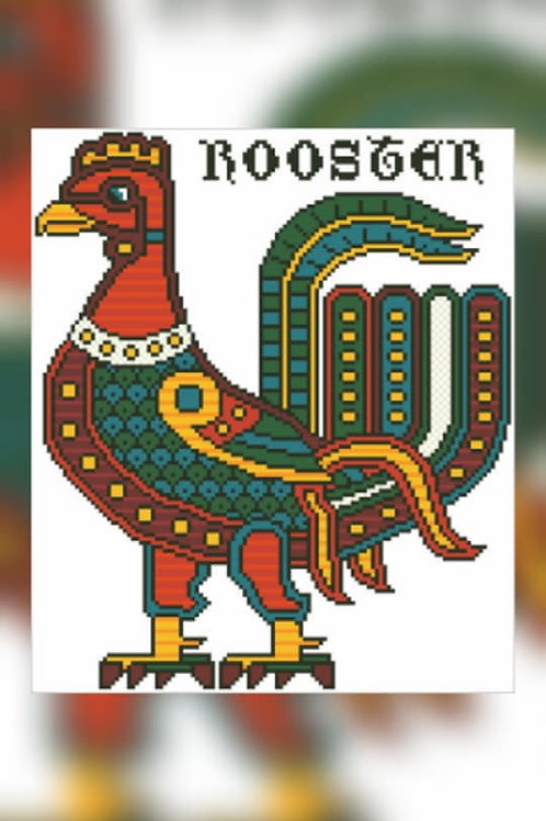 Sassanian Rooster - Arelate Studio