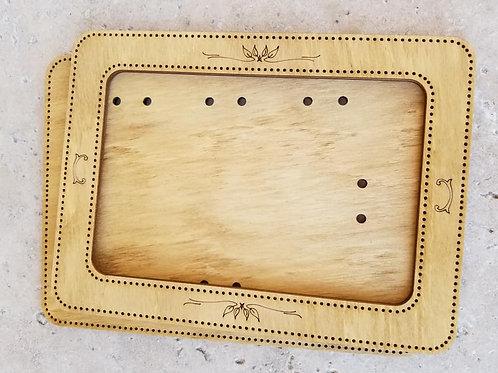 Rectangle Frame (6x4) - Primitive & Wood