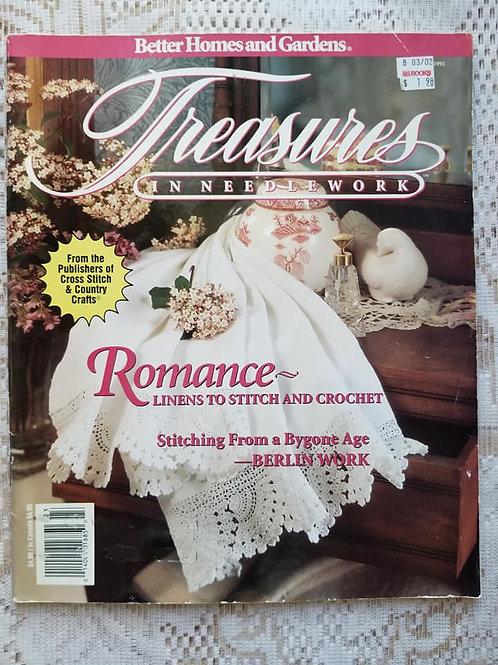 Treasures In Needlework - Fall 1992