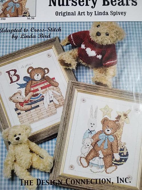 Country Nursery Bears - $2 Charts