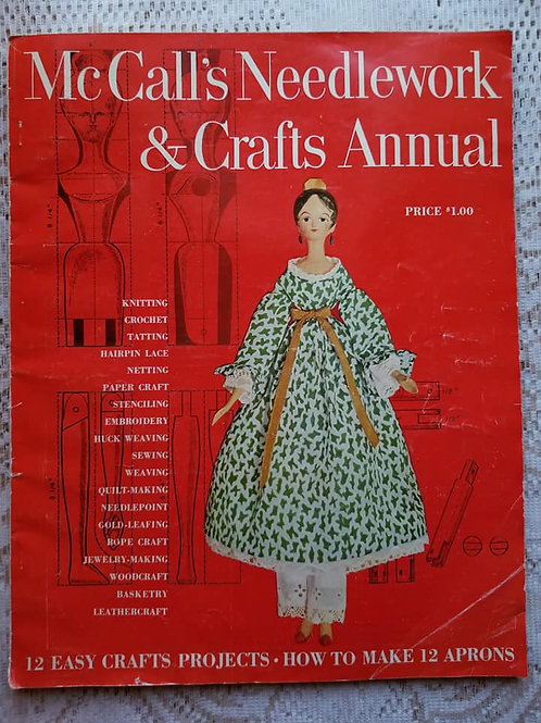 McCall's Needlework & Crafts Magazines (Set of 2)