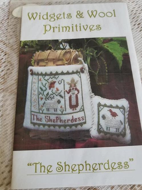 The Shepherdess - Widgets & Wool Primitives