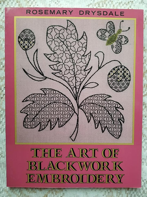The Art of Blackwork Embroidery - Charity Item