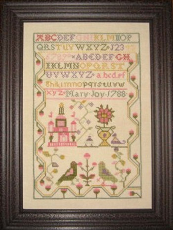 Mary Joy 1788 - Samplers Revisited