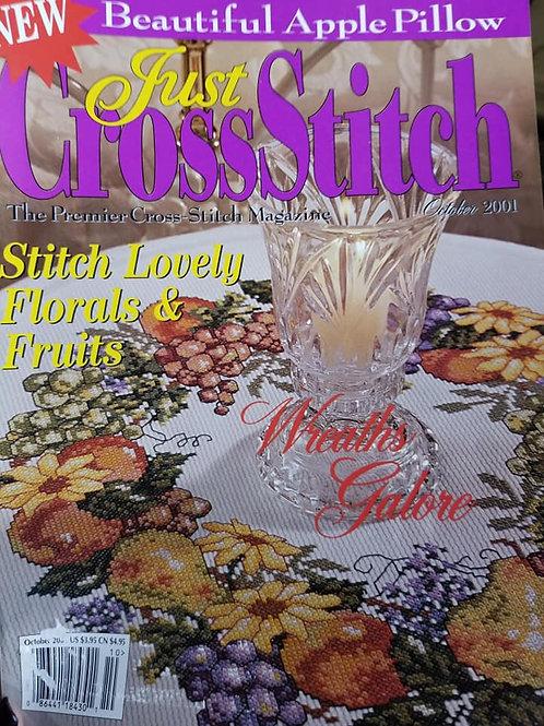 Just Cross Stitch - October 2001