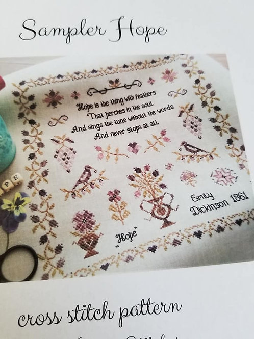 Sampler Hope - Stitches Through The Years