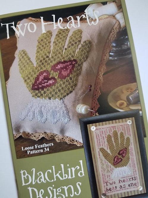 Two Hearts - Blackbird Designs