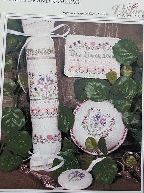 Blue Carnations - The Victoria Sampler
