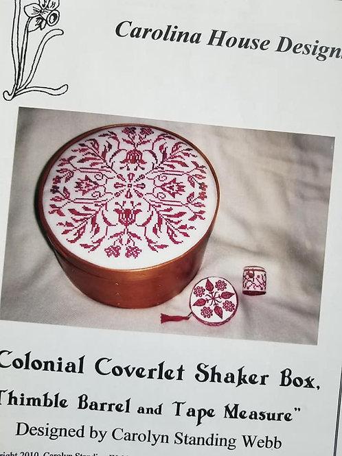 Colonial Coverlet Shaker Box - Carolina House Designs