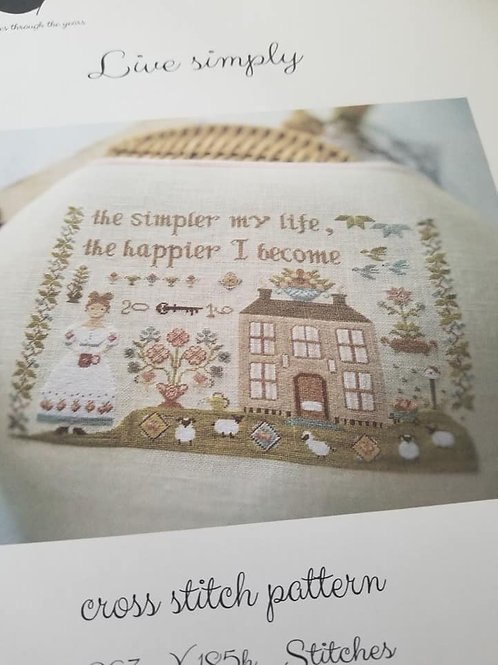 Live Simply - Stitches Through The Years