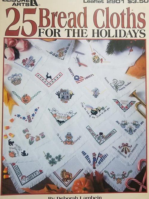 Bread Cloths For The Holidays - $2 Chart