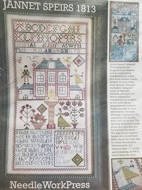 Jannet Speirs 1813 - Needlework Press