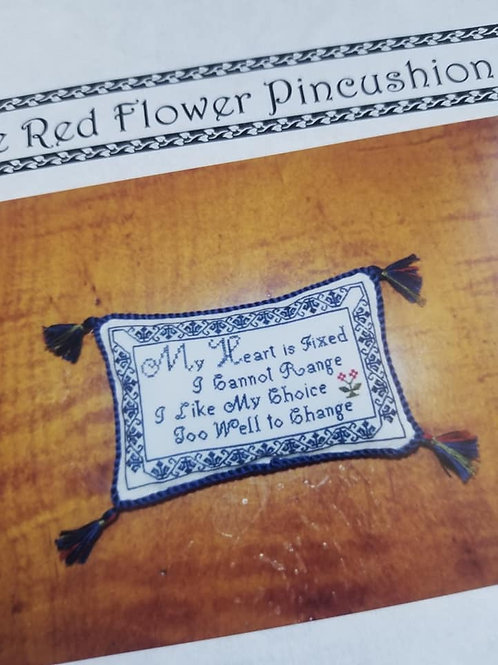 The Red Flower Pincushion - $2 Charts