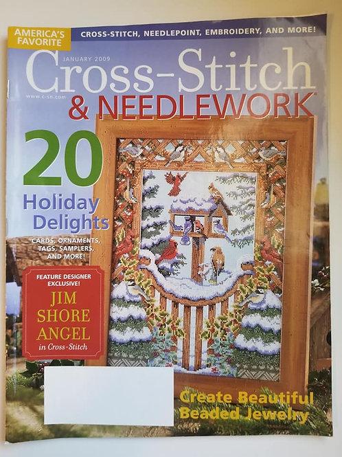 Cross Stitch & Needlework - January 2009