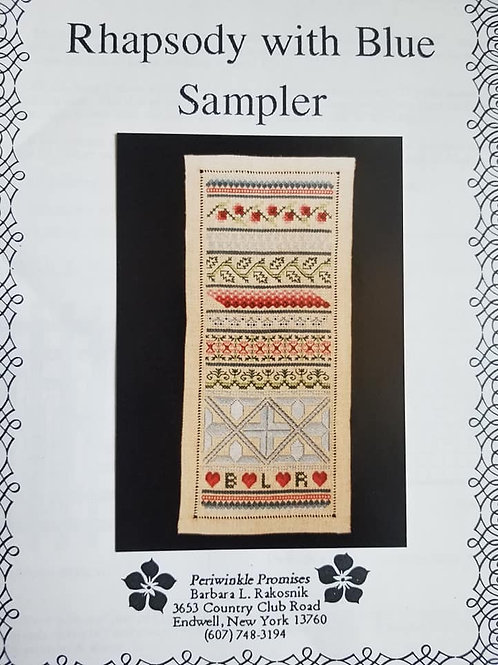 Rhapsody with Blue Sampler - Periwinkle Promises