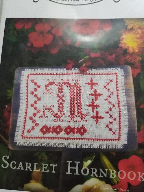 Scarlet Hornbook - Lindsay Lane Designs