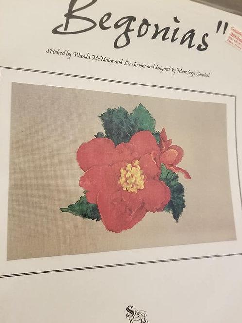 Begonias - $2 Charts