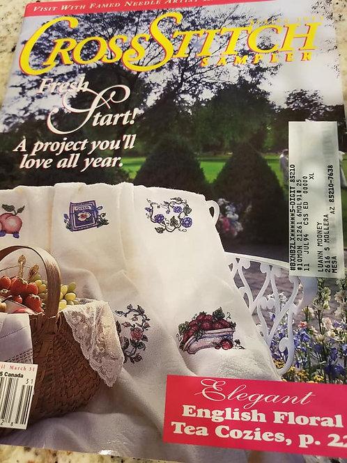 Cross Stitch Sampler - Spring 1993