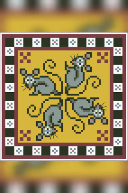 Mouse Pin Cushion - Arelate Studio