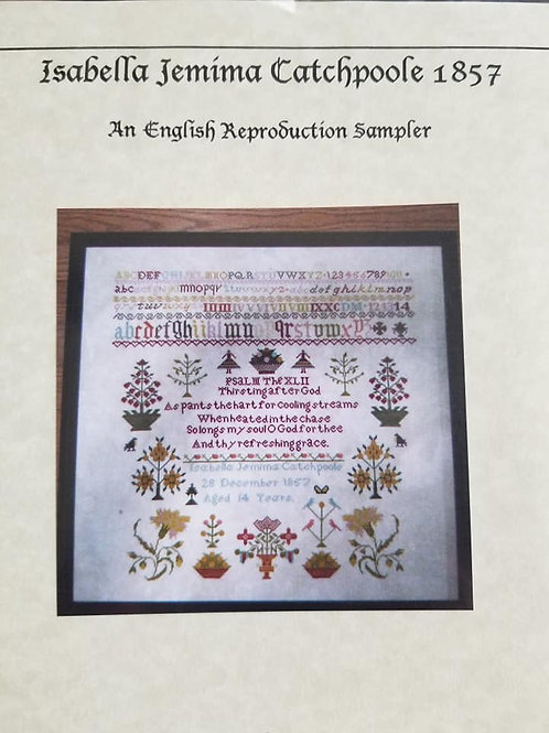 Isabella Jemima Catchpoole 1857 - Samplers Revisited