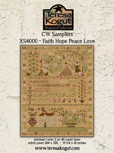 *Faith Hope Peace Love - Teresa Kogut