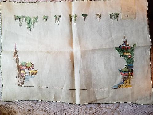 Handmade Chinese Placemat