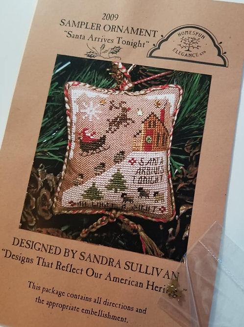 Santa Arrives Tonight - Homespun Elegance