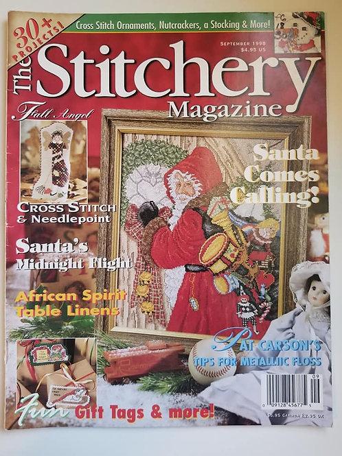 The Stitchery Magazine - Sept. 1998