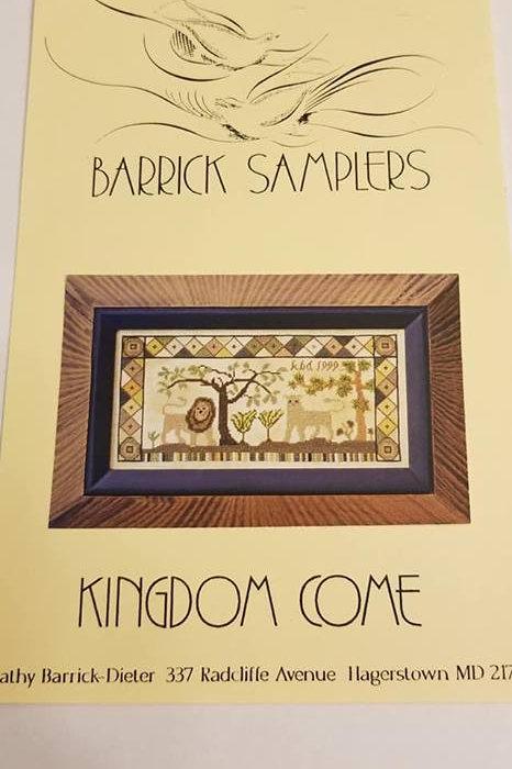 Kingdom Come - Barrick Samplers