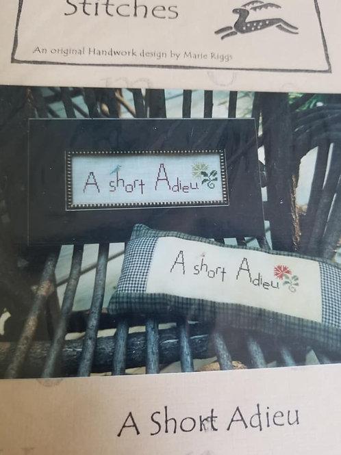 *A Short Adieu - $2 Chart