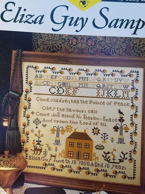 Eliza Guy Sampler - Just Cross Stitch