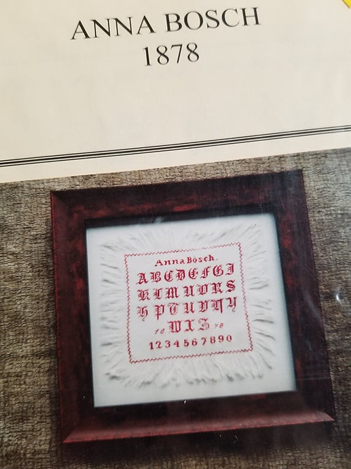 *Anna Bosch 1878 - Beyond Just Cross Stitch