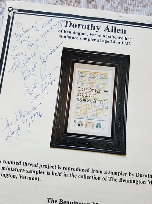 Dorothy Allen - Charity Item