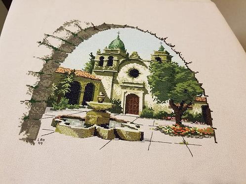 Carmel Mission (Light Tan Fabric) - Finished Works