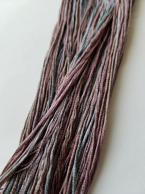 Examplar: Flannel Dark - 1884 Stitchery Silks