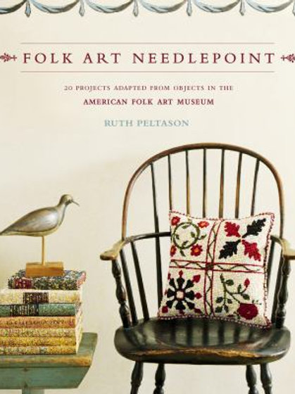 Folk Art Needlepoint - Charity Item