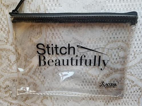 Stitch Beautifully Zipper Bag