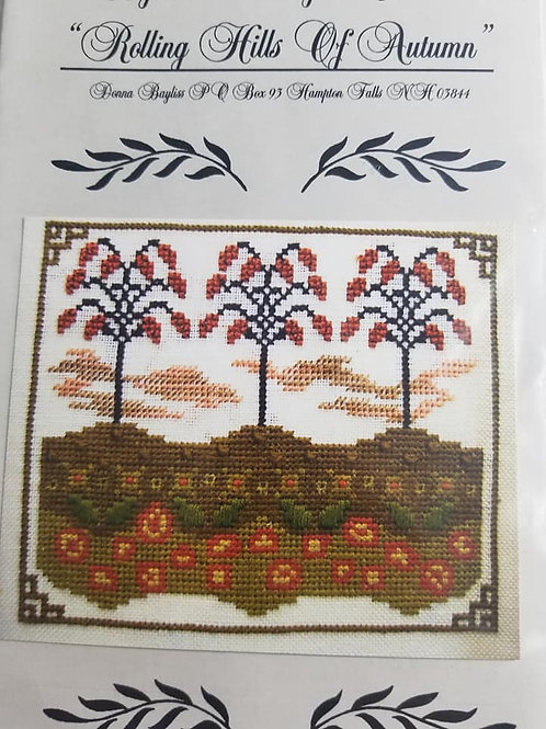 Rolling Hills Of Autumn - By The Bay Needleart