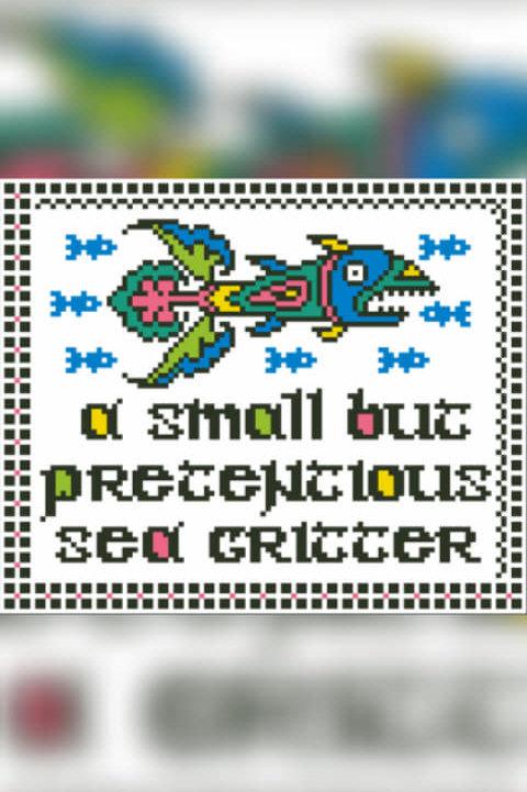 Pretentious Sea Critter - Arelate Studio