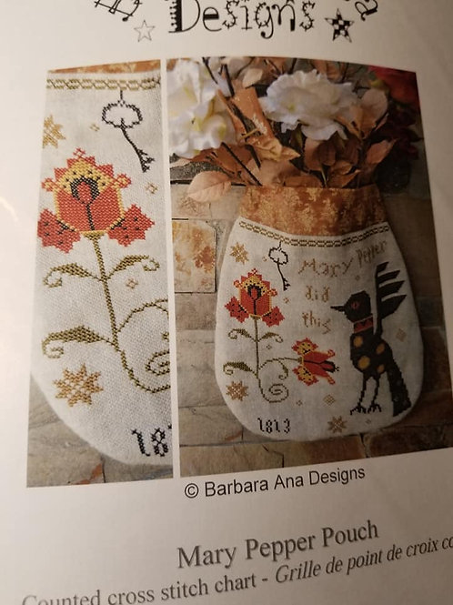 Mary Pepper Pouch - Barbara Ana