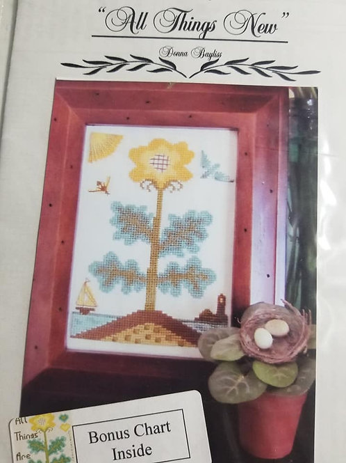 All Things New - By The Bay Needleart