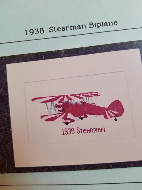 1938 Stearman Biplane - $2 Chart