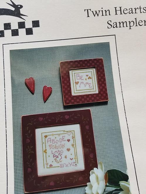 Twin Hearts Sampler - $2 Charts